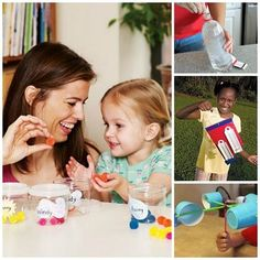 Forecast for Fun: 20 Ways to Teach Kids About Weather - Weather activities Science Games For Kids, Science Party, Preschool Science, Fun Activities For Kids, Learning Activities, Spring Activities, Teaching Science, Weather Activities, Weather Experiments