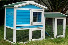 free rabbit hutch plans | Double Storey Rabbit Hutch Plans Plans DIY Free Download project wood ...