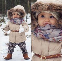 Baby winter fashion,  kid winter fashion