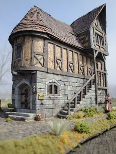 I've been lurking here for a while, thought it was about time I posted something. You may be familiar with some of my work from CMoN, but here I can post more p Medieval Houses, Medieval Town, Medieval Fantasy, Fantasy Village, Fantasy House, Fantasy City, Fantasy Places, Casa Estilo Tudor, Minecraft Medieval