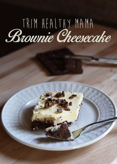 Recommended Brownie Cheesecake (Trim Healthy Mama)