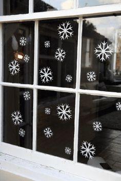 Snow Flake Wall Sticker