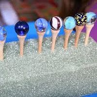 fine motor with marbles
