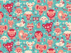 Cute Friends : We Love Patterns