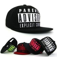 2014 Fashion Advisory Snapback Baseball Cap For Men Women; Hip hop Snapback Caps Strapback Basketball Hat ; Cool Swag