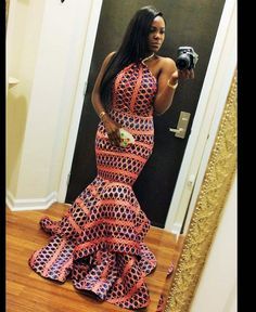 african print dresses ankara - Google Search                                                                                                                                                                                 More