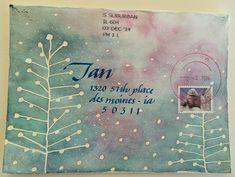 pushing the envelopes: winter exchange - karen