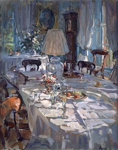 Gallery of romantic Muscovite. - Susan Ryder. *** Lamplight & Sunlight