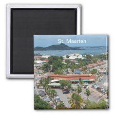 St. Maarten - Marigot Bay Refrigerator Magnet - sold - Alabama - thank you!