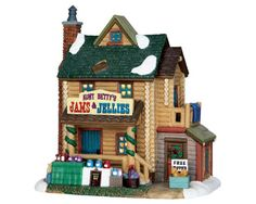 Lemax Village Collection Aunt Betty's Jams & Jellies # 65088