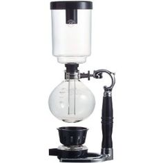 Northwest Glass Yama Coffee Siphon Vacuum Pot. Not sure how this works but it certainly looks cool