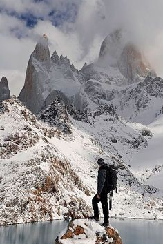 Monte Fitz Roy, Parque Nacional de Los Glaciares, Patagonia Argentina. (copyright: SaulSantosDiaz photographer)