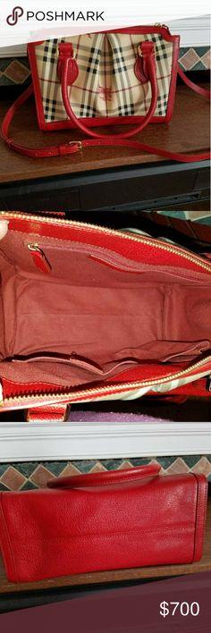 ‼️SOLD‼️Burberry shoulder bag 100% Authentic Burberry bag like new Burberry Bags Shoulder Bags