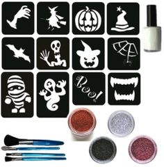 Halloween Glitter Set
