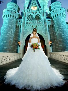 Disney Event Photography | Bridal Portraits