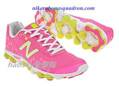 Barefoot Running With The New Balance Minimus Ionix W3090Y1 Womens Neon Pink Yellow White Mens Running Sneaker