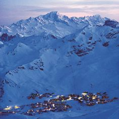 Val Thorens in the French Alps @ Judith Land.