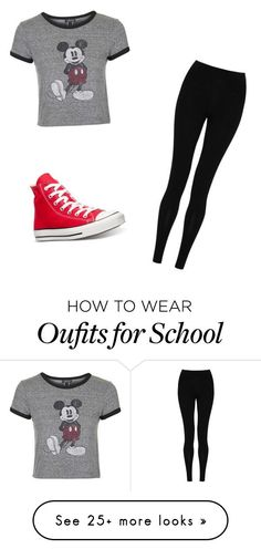 "awesome ""school"" by sinteriano25 on Polyvore featuring Topshop, M&S Collec..."