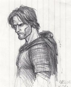 Turin Turambar quick sketch by BrokenMachine86 on deviantART