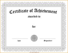 Certificate Of Achievement Template Free Marvelous Free Soccer Award for Soccer Certificate Templates For Word - Professional Templates Ideas Certificate Maker, Blank Certificate Template, Certificate Of Completion Template, Free Printable Certificates, Certificate Of Achievement Template, Award Template, Attendance Certificate, Receipt Template, Google Docs