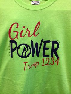 Check out our girl scout shirt selection for the very best in unique or custom, handmade pieces from our shops. Girl Scout Shirts, Brownie Scouts, Girl Scout Cookies, Power Girl, Scouting, New Girl, Girl Scouts, Brownie Ideas, Trending Outfits