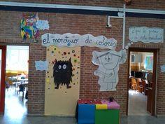 Decorado cuento monstruo de colores Monster, Classroom Decor, Montessori, Felt Boards, Dado, Puppets, Ms, Feelings, In Living Color