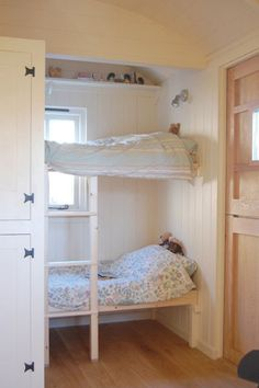 Bunk beds at Scales Farm Holidays in the Lake District