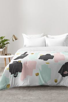 Zoe Wodarz Early Morning Light Comforter | DENY Designs Home Accessories