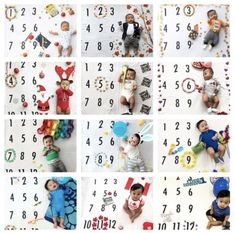Newborn Schedule Discover One whole year of Milestone with the BATZkids Original Monthly Milestone Blanket Monthly Baby Photos, Monthly Pictures, Baby Monthly Milestones, Baby Boy Photos, Baby Pictures, Milestones For Babies, Month Blanket Baby, Baby Milestone Blanket, Baby Milestone Chart