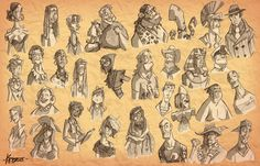 Old 2007 Sketchs by Kristele