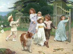 Arthur John Elsley, (1862-1952, British)