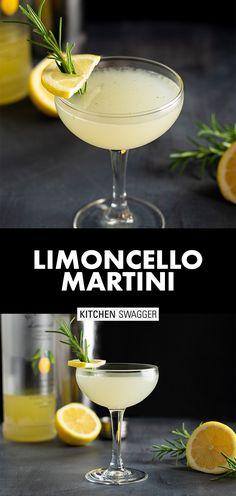 Martini Recipes, Alcohol Drink Recipes, Cocktail Recipes, Summer Drinks, Fun Drinks, Healthy Drinks, Mixed Drinks, Alcoholic Drinks, Italian Cocktails