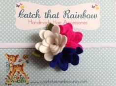 Vintage baby hairband pink Baby Girl hairband by catchthatrainbow,