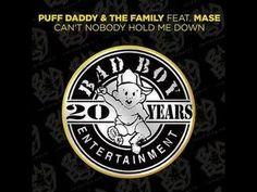 PUFF DADDY FT MASE CAINT NOBODY HOLD ME DOWN G-MIX  BUDDA BALL @BUDDABALL1