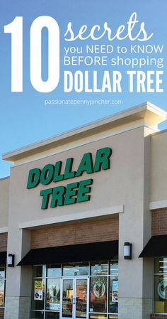 10 Secrets You Need to Know Before Shopping Dollar Tree. Passionate Penny Pincher is the source printable & online coupons! Get your promo codes or coupons & save. Dollar Tree Finds, Dollar Tree Crafts, Dollar Store Hacks, Dollar Stores, Thrift Stores, Ways To Save Money, Money Saving Tips, Money Savers, Money Tips