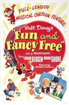 9) Fun and Fancy Free / Diversión y Fantasía (1947) - 7/10