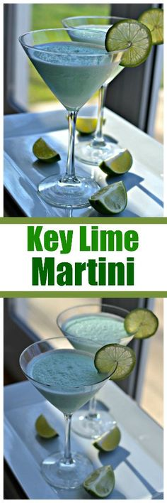 Key Lime Martini | Lime Martini | Martini | Key Lime Cocktail | Key Lime