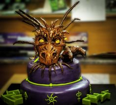 The mighty dragon cake sacrificed during Magic: The Gathering WMCQ