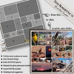 Story Blueprint for Sixteen QuickClick Inspire Me, Photo Book, Layouts, Hold On, Digital, Words, Ideas, Design, Naruto Sad