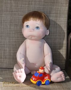 "56 cm / 22"" tall Life size Soft Sculptured Anatomically Correct Baby Boy 03'2012: Little Darling ""G"". All natural, Child Safe Baby Doll. $230.00, via Etsy."