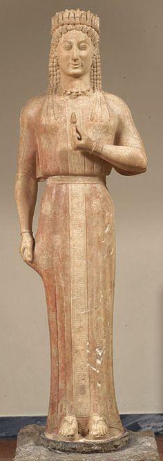 Frasikleia statue.Found in Attika-Greece.