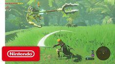 New Legend of Zelda: Breath of the Wild Gameplay