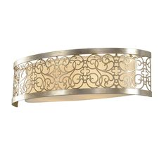 Buy the Feiss Silver Leaf Patina Direct. Shop for the Feiss Silver Leaf Patina Arabesque Collection 2 Light Bathroom Vanity Light and save. Flush Lighting, Flush Ceiling Lights, Wall Sconce Lighting, Wall Sconces, Bedside Lighting, Bathroom Wall Lights, Bathroom Vanity Lighting, Light Bathroom, Diy Vanity