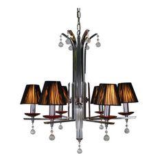 EPIPLAMEMA | ΦΩΤΙΣΤΙΚΟ 6ΦΩΤΟ SILVER 32017 Ceiling, Chandelier, Decor, Home, Home Decor, Ceiling Lights