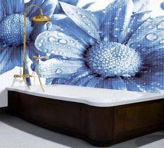 Mosaic tile pattern design by Glass Décor