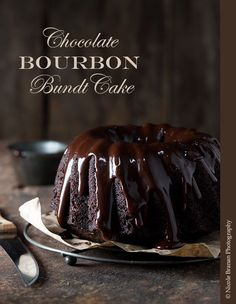 Chocolate Bourbon Bundt Cake Recipe | The Spice Train