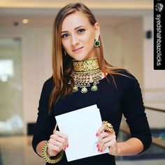 Our Gorgeous #Aad ( Royal Rajput Choker) made its debut at our event with @tajdubai and it was stunning and amazing , an heirloom for eternity....❤❤❤