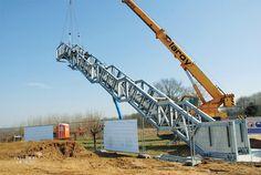 Cor-Ten Staircase Rises From Belgian Farmland
