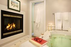 Stone Hill Inn. Where every bathroom looks like this. #Heaven. #Stowe. celiehart
