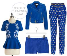 color of the month / cobalt